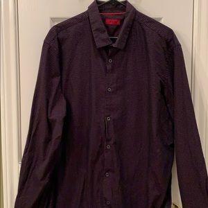 Men's Alfani Slimfit Button-up Shirt